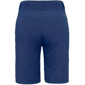 VAUDE Tamaro pantaloncini da ciclismo Donna blu